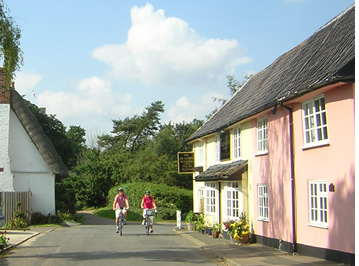 Cycling holiday in Suffolk and see the beautiful sights